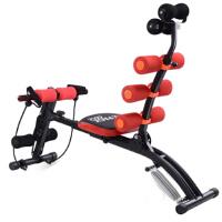 六合一家用办公室锻炼健身器AD收腹机健腹器 红色