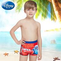 迪士尼汽车总动员男孩泳装夏季儿童泳衣小孩印花游泳衣男童泳裤