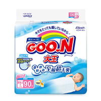 大王(GOO.N)环贴式纸尿裤维E系列婴儿尿不湿 男女通用 NB90片