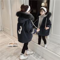 女童儿童棉袄中大童羽绒棉棉衣外套