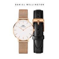 Danielwellington丹尼尔惠灵顿金属表带 DW手表女 学生DW表带套装