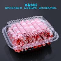 20200111133303258一次性羊肉卷包装盒肉片保鲜冷冻500g透明带盖牛羊肉卷打包盒