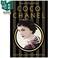 【现货】Coco Chanel 可可香奈儿:珍珠 香水和小黑裙 时装设计师 英文原版图书籍进口正版