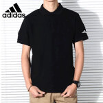 adidas阿迪达斯2018年夏季男子新款宽松透气翻领POLO衫短T恤CD2840