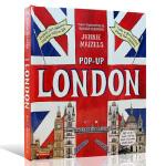 伦敦精装立体翻翻书 Pop-Up London 英文原版绘本 Jennie Maizels 6-12岁儿童课外兴趣阅读