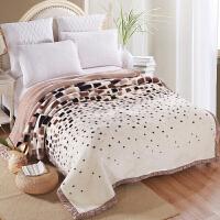 伊迪梦家纺 超柔保暖拉舍尔毛毯 双层加厚加大盖毯 春秋冬季毯子 单人双人床绒毯BD801