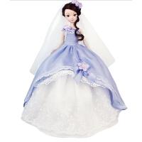 手工可儿娃娃浪漫婚纱系列佳期有约儿童礼物