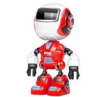 儿童合金迷你可旋转耐摔感应触摸会说话语音小机器人电动模型玩具