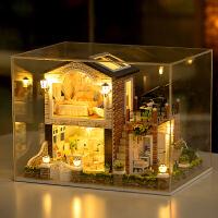 生日礼物女生diy小屋爱尔兰乡村手工制作房子模型大型别墅