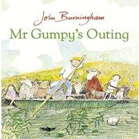 和甘伯伯去游河 英文原版Mr Gumpy's Outing