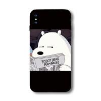 XS苹果7手机壳iPhone8软MAX硅胶6splus熊本熊X可爱XR萌女5s全包6 苹果6plus/6splus 鄙