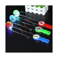 轨道悠悠球七彩发光魔术磁力圆悠悠球闪光陀螺儿童玩具