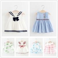 婴儿裙子夏季1-2-3岁女童连衣裙一岁半儿童公主裙小童女宝宝夏装0