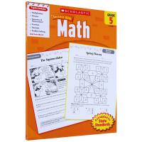 Scholastic Success with Math 5 美国小学五年级数学练习册 英文原版 英文版 进口书籍 英语