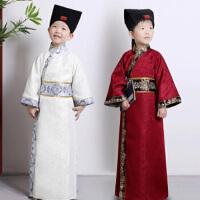 书童男童国学三字经弟子规演出表演服装儿童古装汉服古代古装幼儿