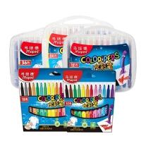 马培德学生儿童幼儿水彩笔套装绘画涂鸦笔可水洗12色18色24色36色
