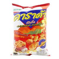 【满99减50元】泰国进口卡啦哒香辣鸡味米球75克膨化米球休闲零食