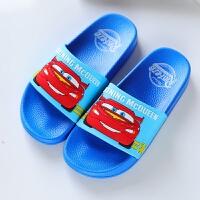 迪士尼儿童凉拖鞋夏季室内居家洗澡浴室拖鞋男童防滑沙滩拖鞋软底