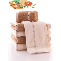 纯棉大毛巾 加厚全棉面巾 情侣家用洗脸巾 柔软吸水 i5s