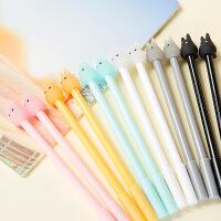 韩国文具 创意兔子 学生中性笔水性笔创意水笔0.38m