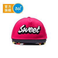 361度儿童帽子秋季男女童遮阳帽新款小童棒球帽 K11834201