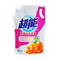 [当当自营] 超能 双离子洗衣液(焕彩新生) 1kg/袋装