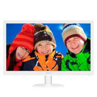 飞利浦(PHILIPS)243V5QSW 23.6英寸LED宽屏 MVA广视角液晶显示器 白色243V5QSW