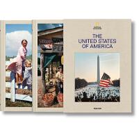 现货包邮 大开本TASCHEN原版National Geographic: 美国国家地理杂志摄影画册 2册盒装珍藏版