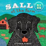 Sally at the Farm 萨利在农场 英文原版儿童启蒙读物