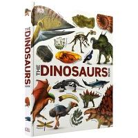 【首页抢券300-100】DK The Dinosaurs Book 精装恐龙科普图鉴大全 儿童英语百科全书 DK恐龙书