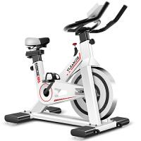 动感单车超静音家用室内健身器材脚踏车运动减肥健身 1_动感单车-升级版 白色