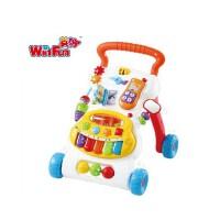英纷婴儿宝宝学步火车 儿童手推车多功能音乐琴早教益智学步玩具