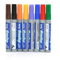 儿童学生彩色大容量白板笔水性可擦笔幼教师专用笔8色套装