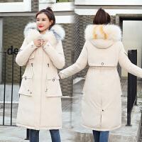 【极速发货 超低价格】派克服女中长款冬季外套2020新款韩版宽松加厚棉衣保暖棉服潮