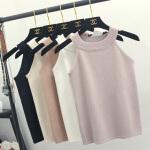 2018春夏装新款针织吊带背心女短款外穿韩版百搭性感打底学生内搭
