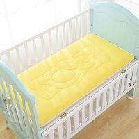 宝宝儿童幼儿园床垫四季防滑午睡垫子婴幼儿床垫新生儿垫被床褥子 儿童小熊床垫 黄色
