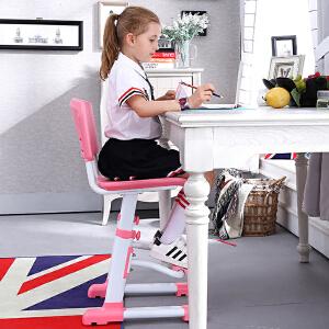 学习椅简约学生家用可升降椅子人体工学椅矫姿椅男孩女孩写字椅满额减限时抢礼品卡儿童家具