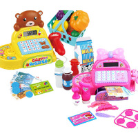 五星38562芭莉公主超市收银机益智儿童玩具仿真收银台女孩过家家