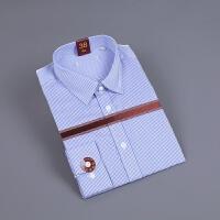 2018男装剪标男式衬衣商务正装长袖衬衫 海 C3N08400