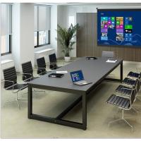 大小型会议桌长桌简约现代折叠培训桌条形简易会议长方形桌椅