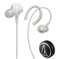 铁三角(Audio-technica) ATH-COR150 耳挂式/耳塞式两种佩戴方式换 个性导线收藏滚轮