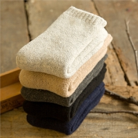 3双冬季厚袜子男士保暖袜特厚加绒中筒袜