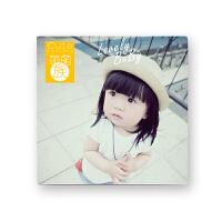 宝宝成长记录相册diy儿童照片书制作婴儿纪念册定制情侣创意影集 小女孩 8x8英寸 20P