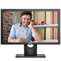 戴尔(DELL)E1916H 18.5英寸宽屏LED背光液晶显示器 DP+VGA接口!支持支架和壁挂,获多项节能环保认