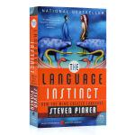 语言本能 The Language Instinct 英文原版 比尔盖茨推荐 英语语言学入门 探索语言奥秘 涵盖语言学