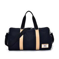 户外运动帆布旅行包男手提行李包出差健身包短途旅游包大容量可折叠运动包