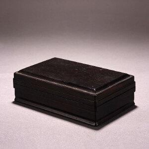 清 紫檀文房盒