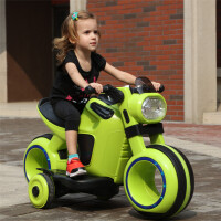 儿童电动车摩托车小孩电动三轮玩具车宝宝车子电瓶车大号可坐人代