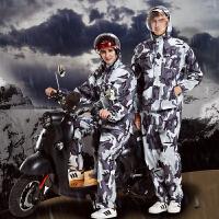 男女雨衣雨裤分体套装户外成人电动车摩托车单人加厚加大雨披
