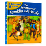 小乌龟富兰克林和朋友们8个故事精装合集 The Adventures of Franklin and Friends